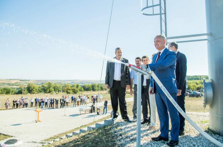 Localnicii din Cuhureștii de Sus, Florești, vor avea acces la apă potabilă