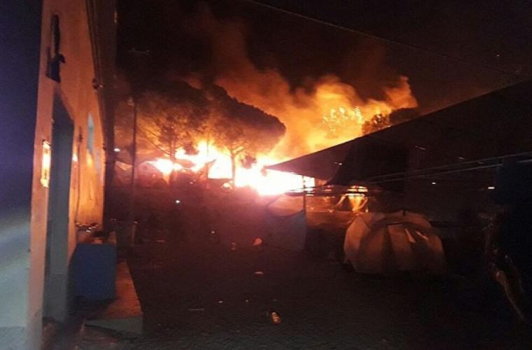 Grecia: 13 persoane au fost arestate după un nou incendiu
