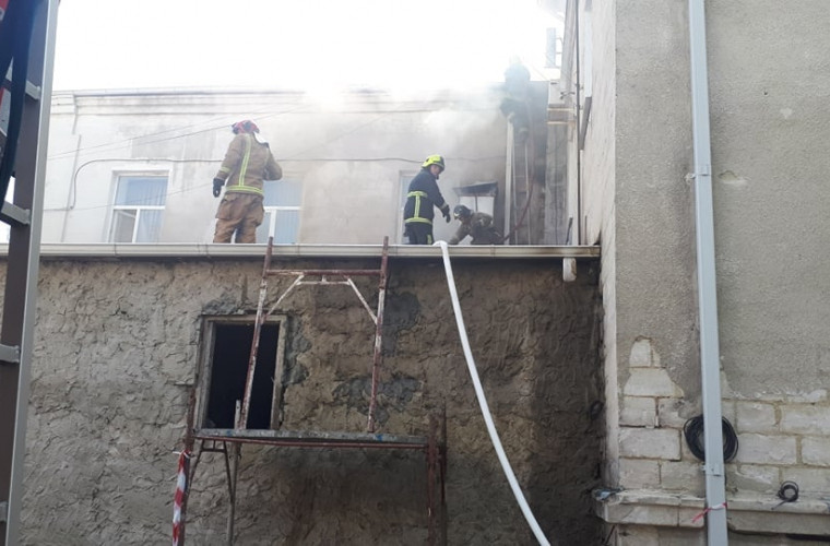 UPDATE: Incendiu la Filarmonica Națională / LIVE (FOTO/VIDEO)